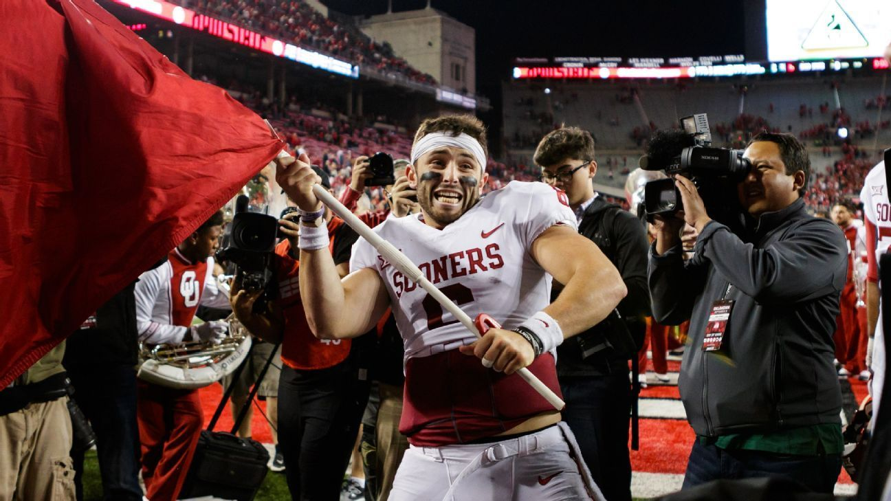Baker Mayfield apologizes for Sooners flag incident at