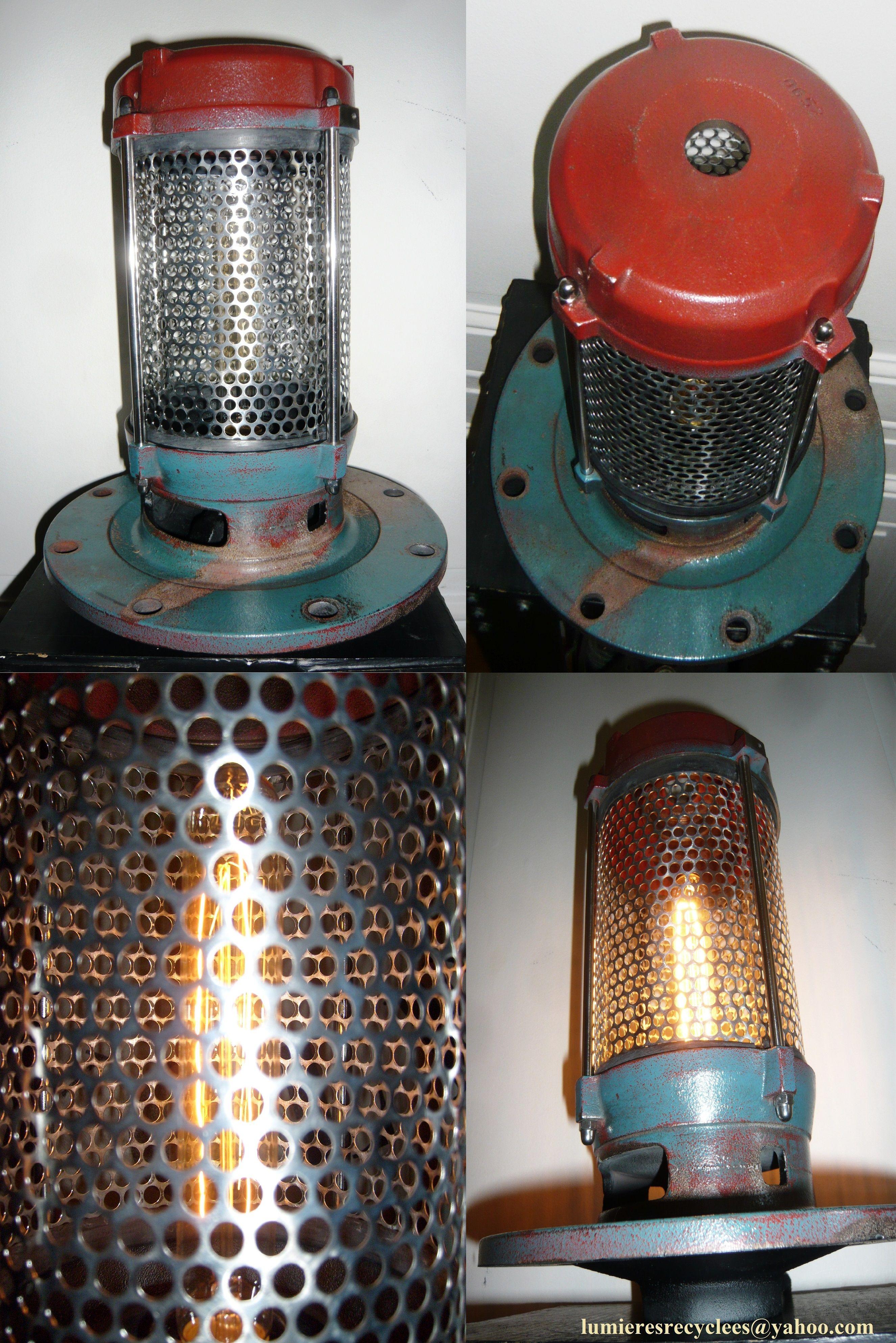 épinglé par Lumi¨res Recyclées by Jeanphi sur Lampe lanterne de