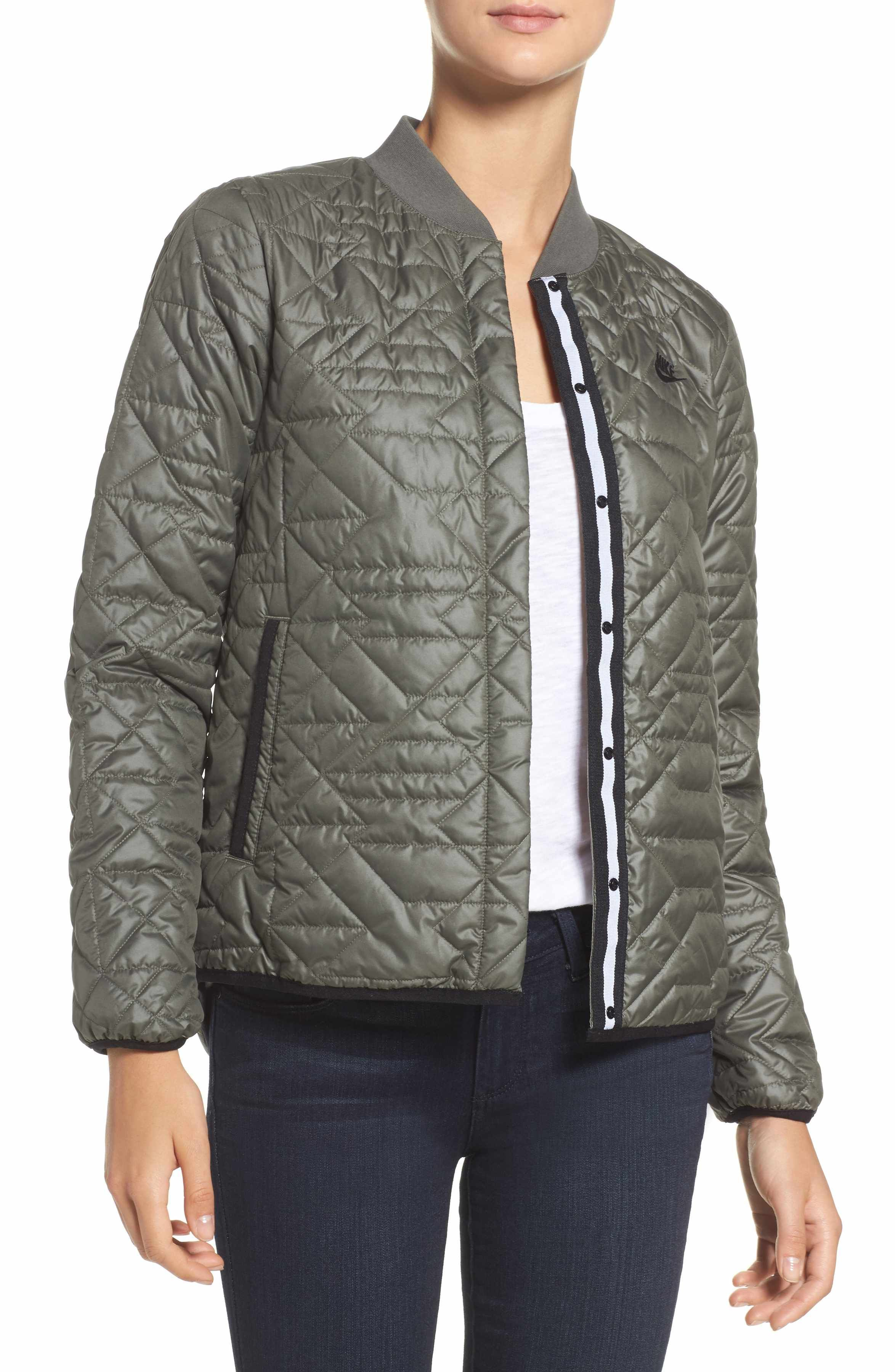 0f2a8093c Main Image - Nike Quilted Down Bomber Jacket | Fashion to-do list ...