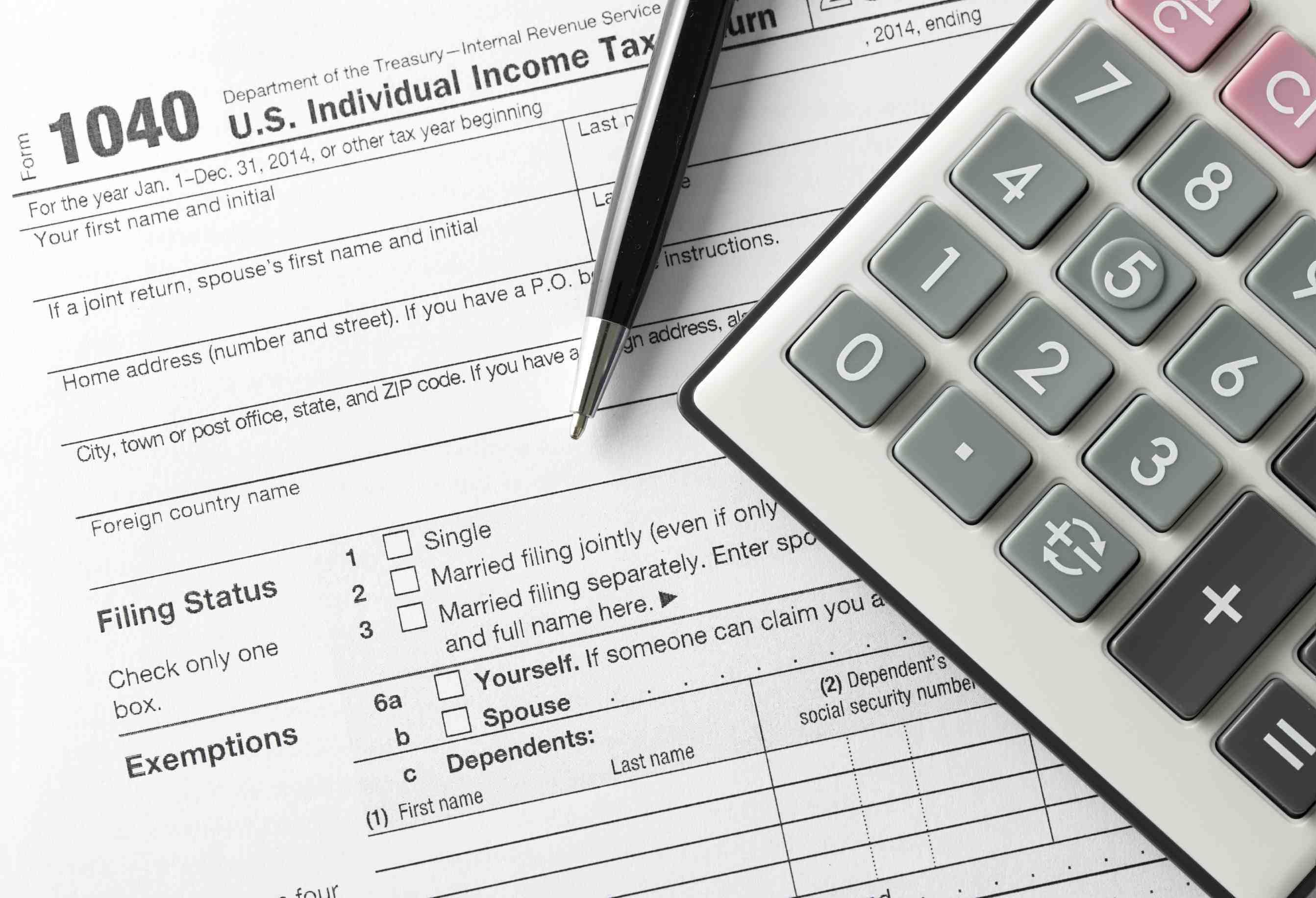 Maintaining tax accounting