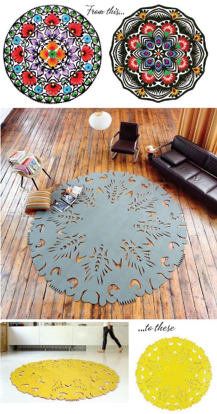 Carpet From Moho Design Poland The Inspiration For This Dia