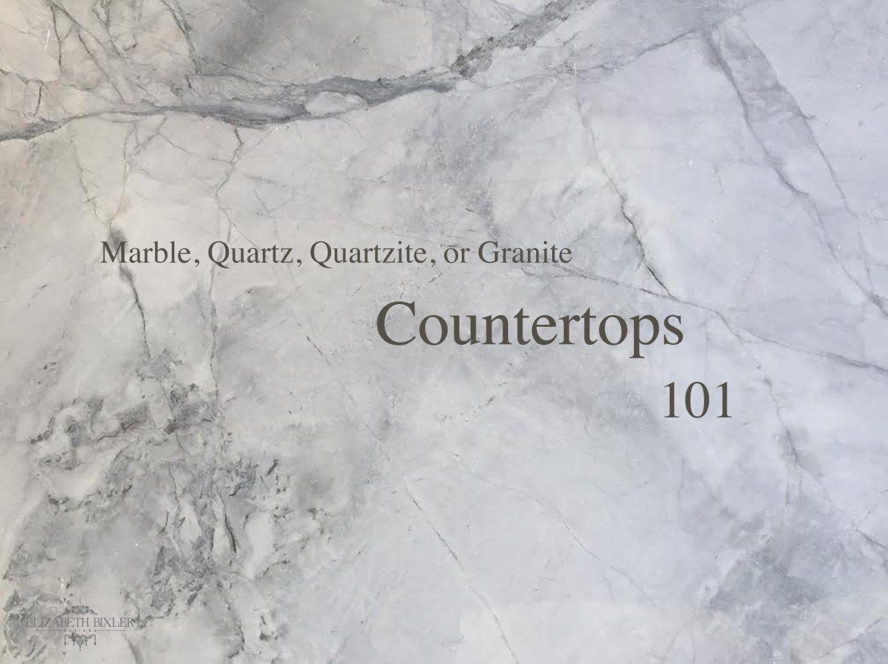 Marble Countertop Alternatives : Pros + Cons - | Countertop, Marbles ...