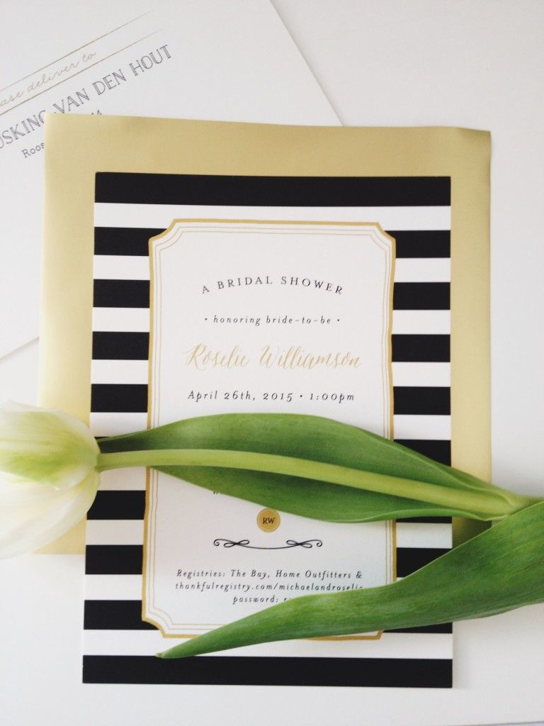 Kate Spade Inspired Bridal Shower Invitations | Pinterest | Bridal ...