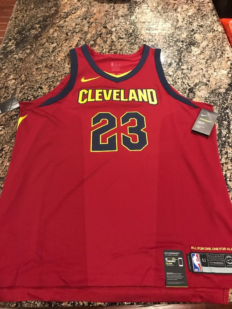 cheaper bf0a8 17471 Nike Lebron James Cleveland Cavaliers Icon Authentic Jersey ...