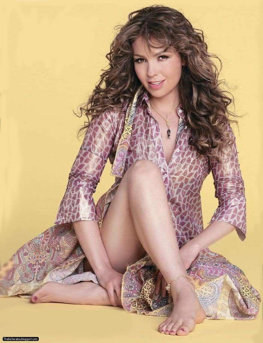 Thalia Sodi Naked Top thalía's feet << wikifeet | bein && legs | pinterest | thalia and