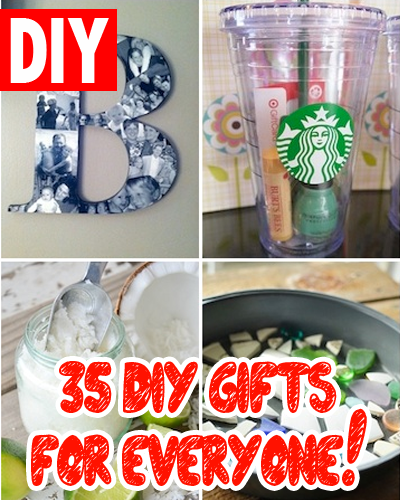 35 DIY Gifts For Friends (Or Anyone Who Loves Cool Gifts