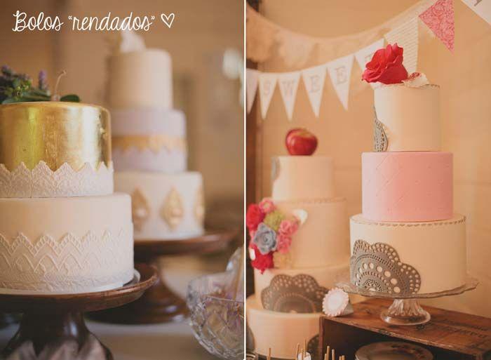 Inspirações para um casamento romântico   http://www.blogdocasamento.com.br/casamento-romantico/