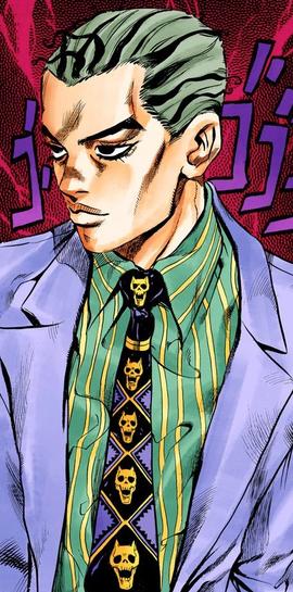 Yoshikage Kira Jojo S Bizarre Encyclopedia Fandom Powered By Wikia Imagem De Anime Personagens De Anime Manga Anime