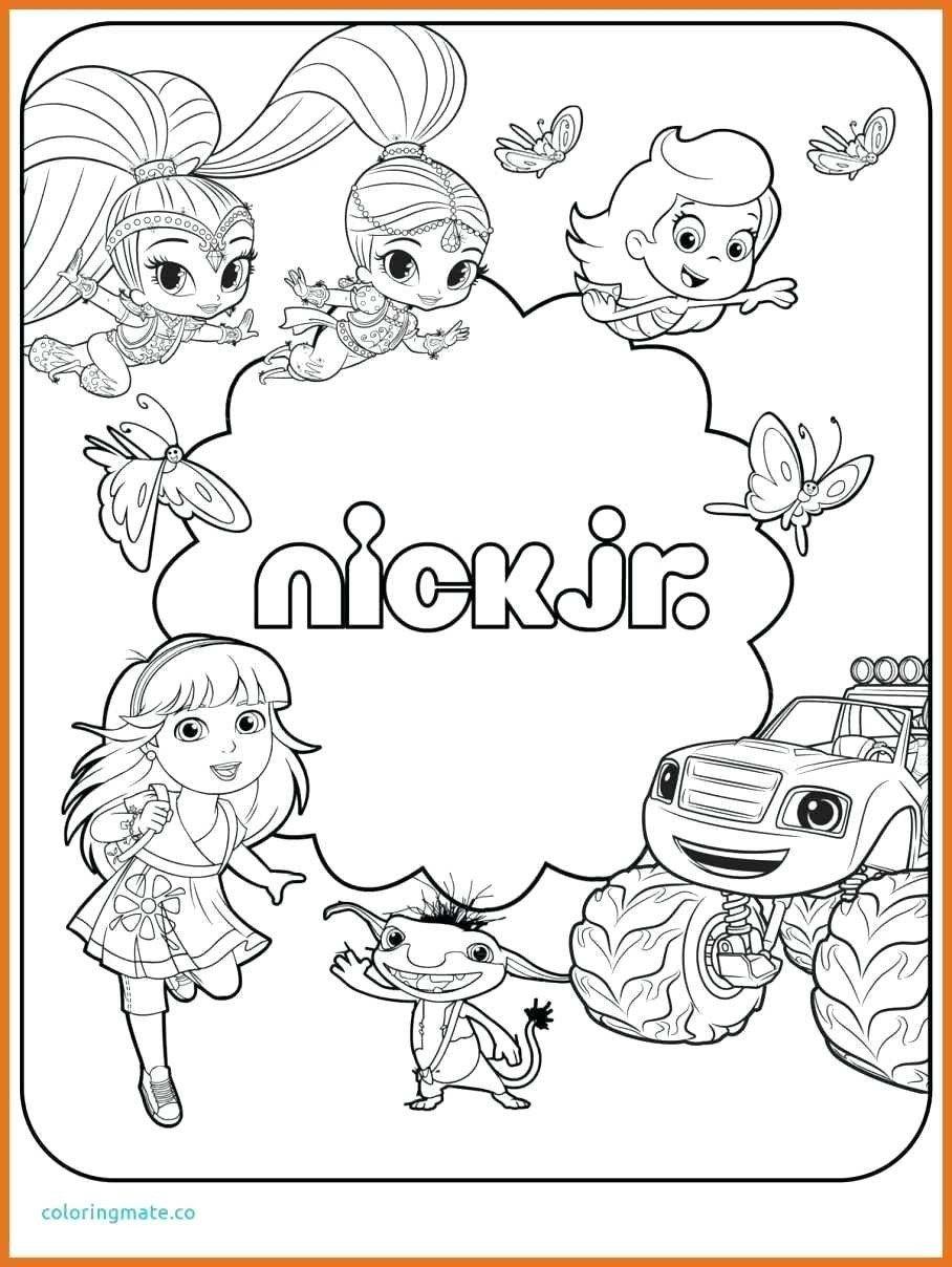 Nick Jr Coloring Pages Unique Nick Jr Coloring Pages 6 Kids Cortexcolor Cartoon Coloring Pages Nick Jr Coloring Pages Puppy Coloring Pages