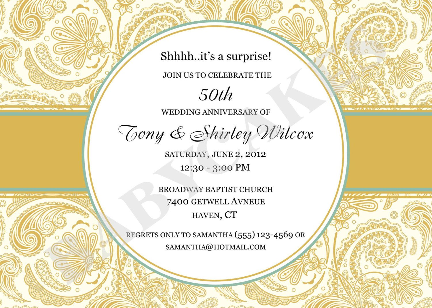 It is a graphic of Bewitching 50th Wedding Anniversary Cards Free Printable
