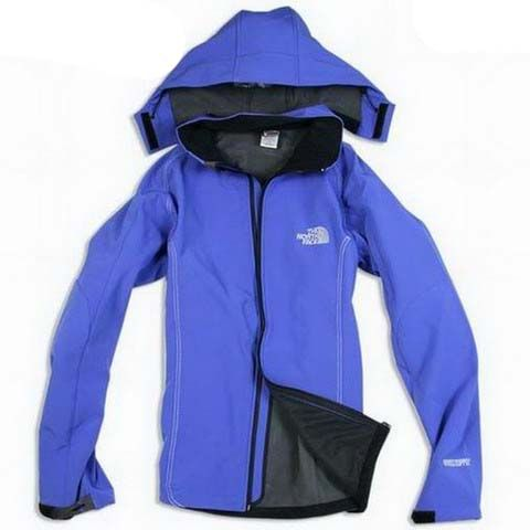 Mens The North Face Windstopper Jacket Cornflower Blue