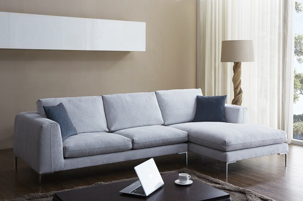 Bianca Sectional With Images White Sectional Sofa White Fabric Sofa Fabric Sectional Sofas