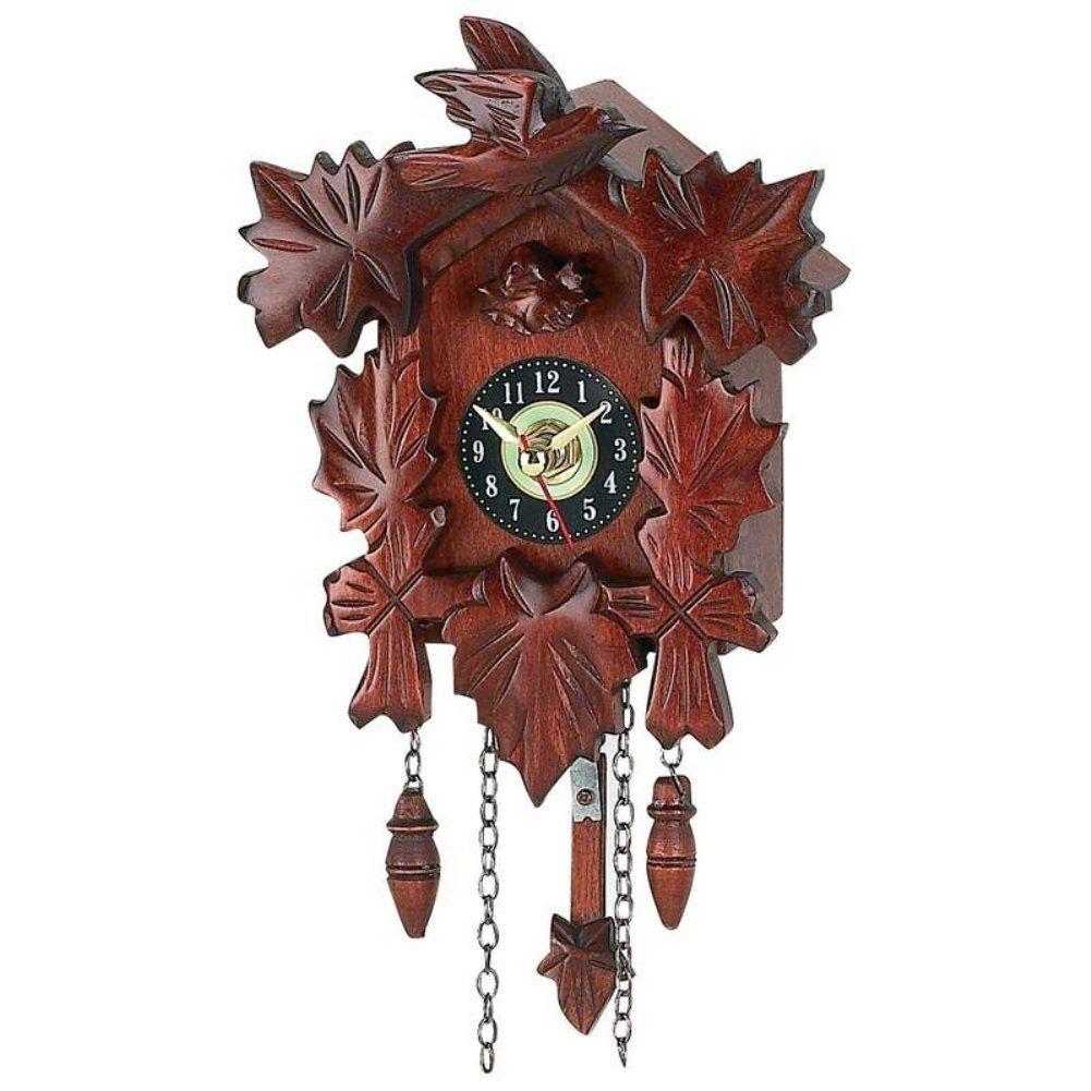 Amazon Com Kassel Hhcc10 7 X 5 1 4 X 3 1 2 Cuckoo Clock Small Kuku Clock Cuckoo Clock Clock Vintage Clock
