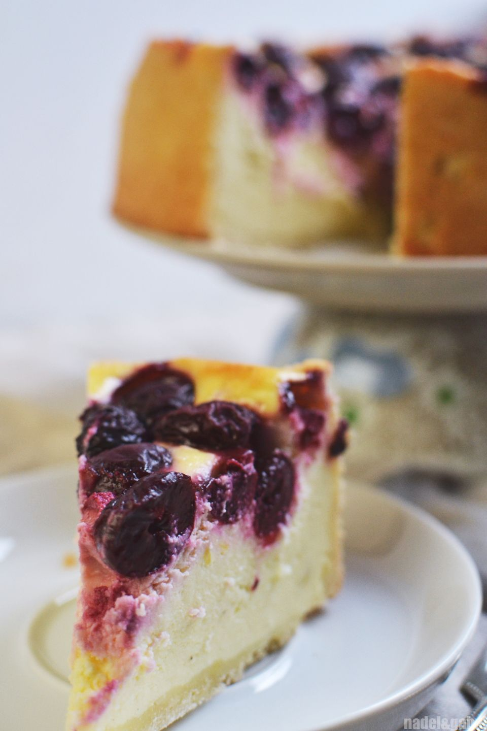 We call it a Klassiker – German Cherry Cheesecake | Cheese cakes ...