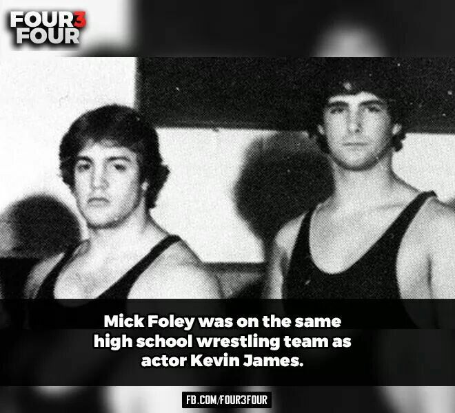 Kevin James and Mick Foley #WWE   WWE   Kevin james, Mick ...  Kevin James and...