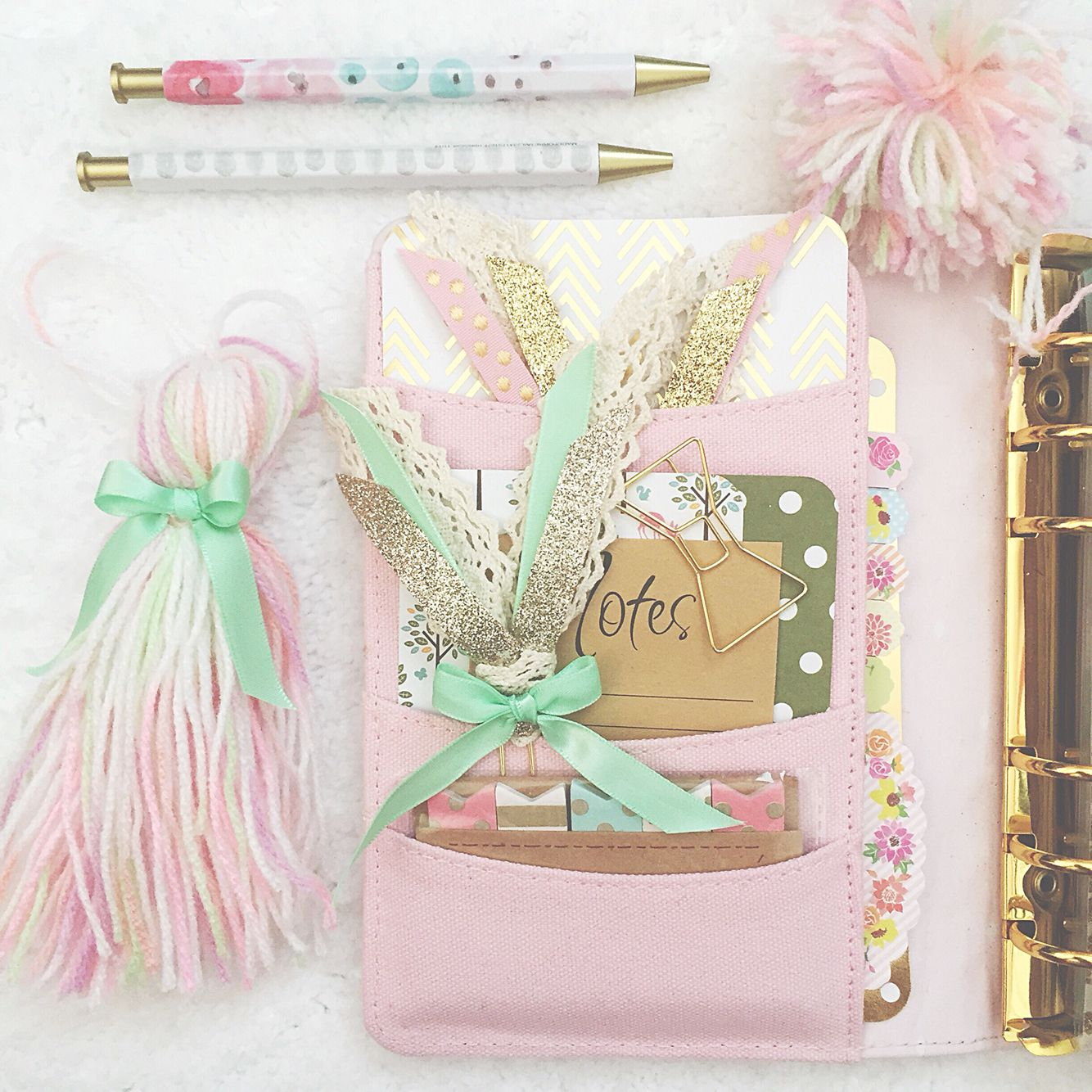 New pastel planner goodies