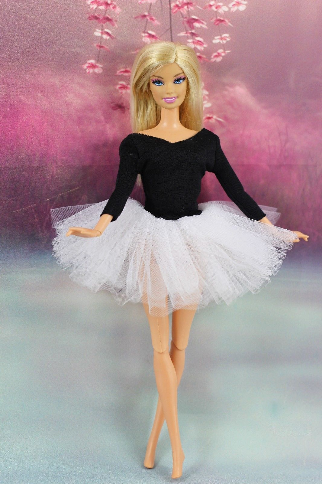 Fashion Handmade Ballet Dress//Clothes//Outfit For 11.5in.Doll L04