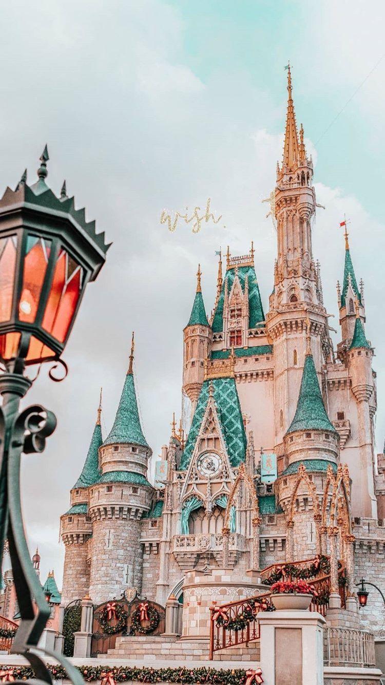 Disney castles disney disneyworld disneyland castle