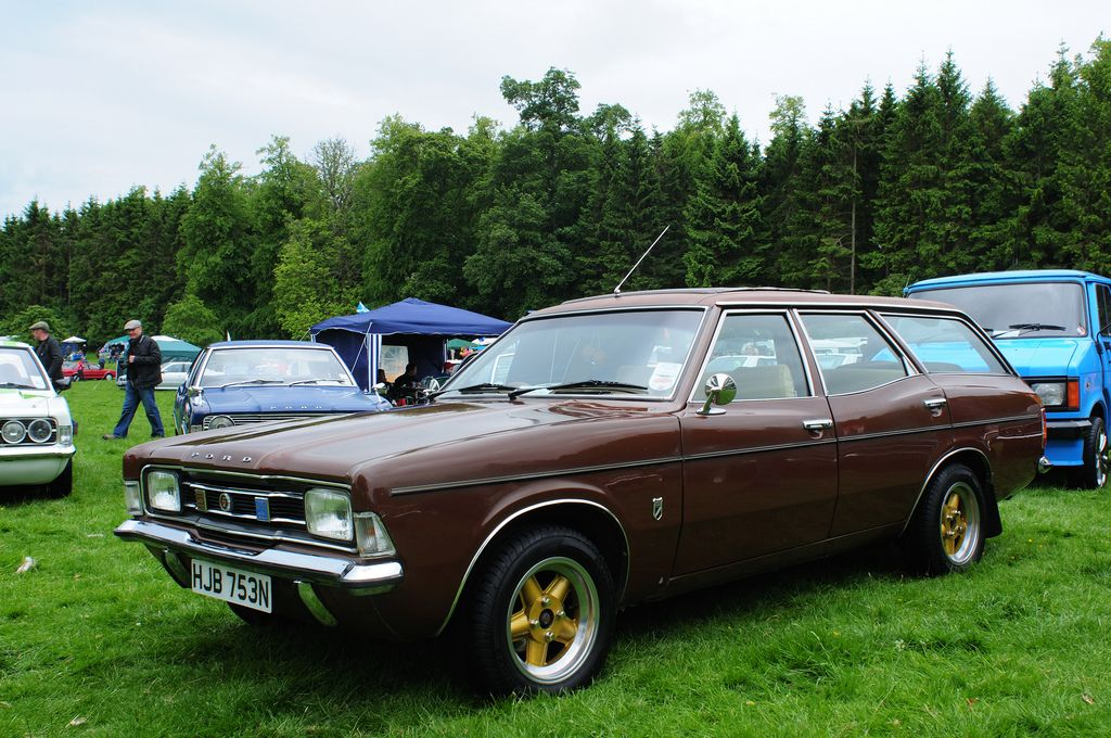 Brown Ford Cortina Estate Ford Wagons Cars