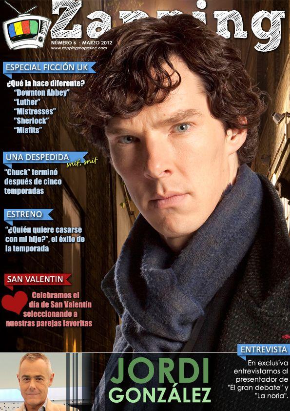 Portada del Nº6 (Opción 1/3) de Zapping Magazine