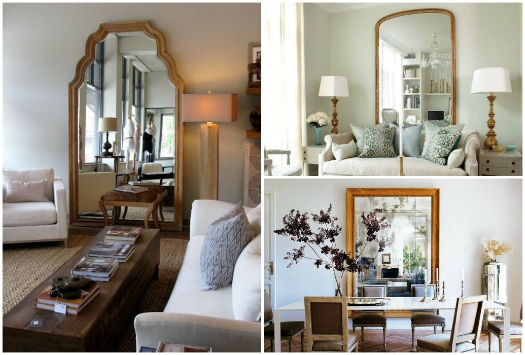 decorar con espejos muebles a la carta