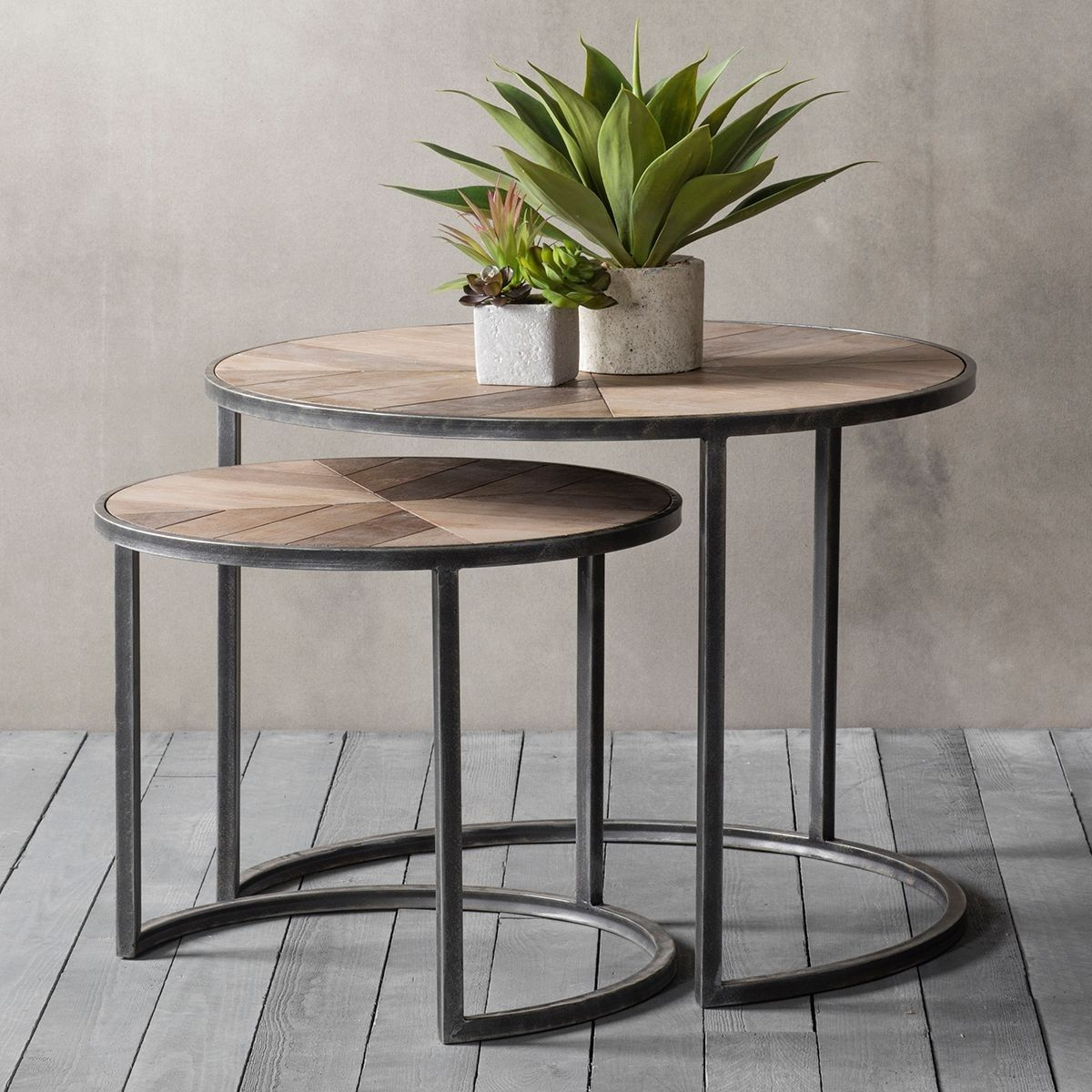 Dilwyn Coffee Table Nest Of 2 Nesting Coffee Tables Coffee Table Wood Modern Side Table
