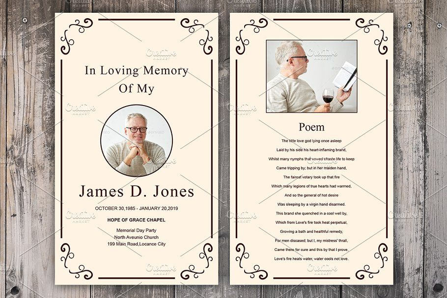 Funeral Prayer Card Template Memorial Cards For Funeral Funeral Cards Memorial Cards