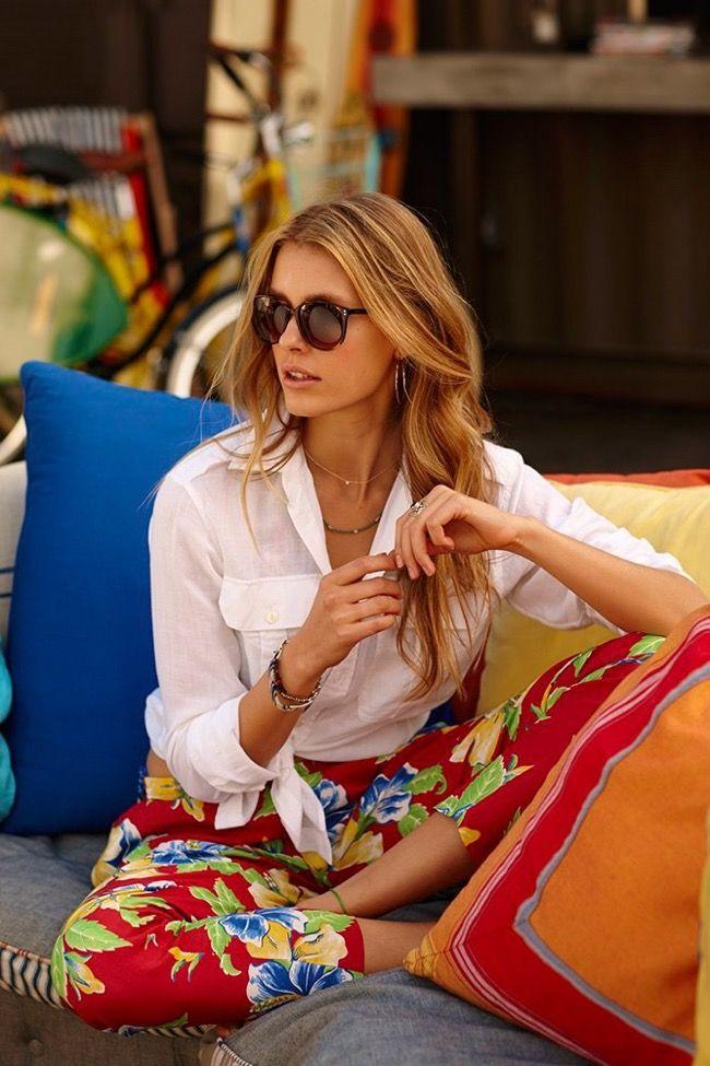 2aa399c80664 Ralph Lauren s Relaxed Style for Summer 2015. l  kekelindgard   poloralphlauren