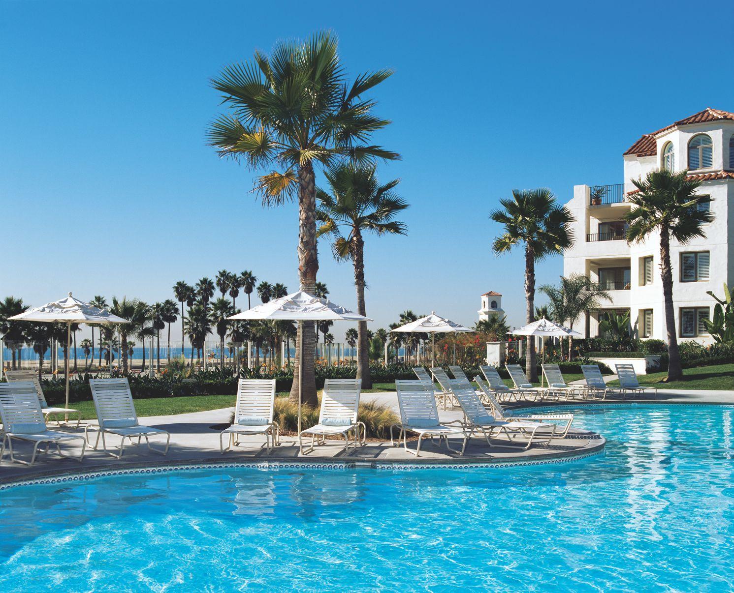 Soak Up The California Sun At Hyatt Regency Huntington Beach S Lagoon Style Pool