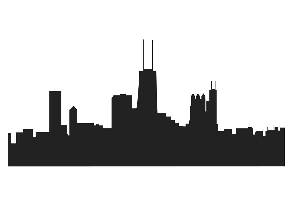 chicago skyline drawing 854 clipart best clipart best projects rh pinterest com chicago skyline clipart free download chicago skyline clipart free download