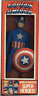 Mego boxed Captain America