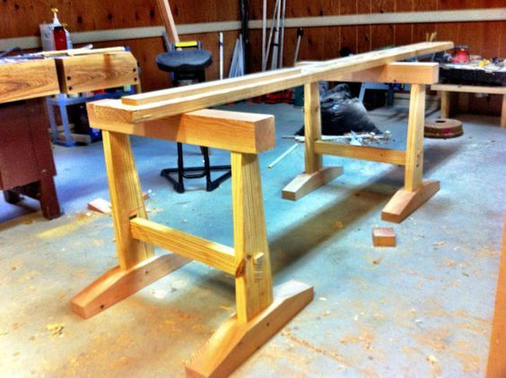 Getting Started In Woodworking Building A Japanese Workbench