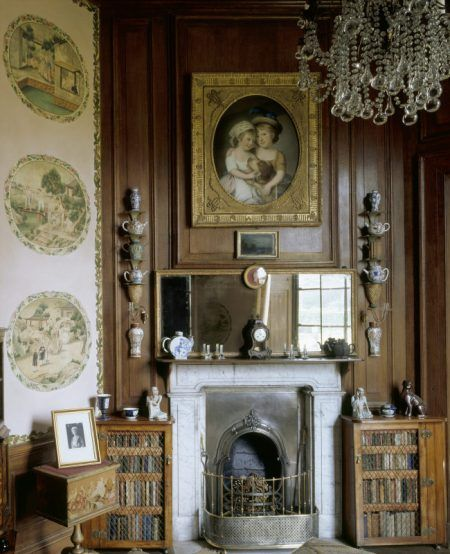 The Chinese Room at Erddig, created in the 1770s, with Chinese pictures pasted onto its walls. ©National Trust Images/Andreas von Einsiedel