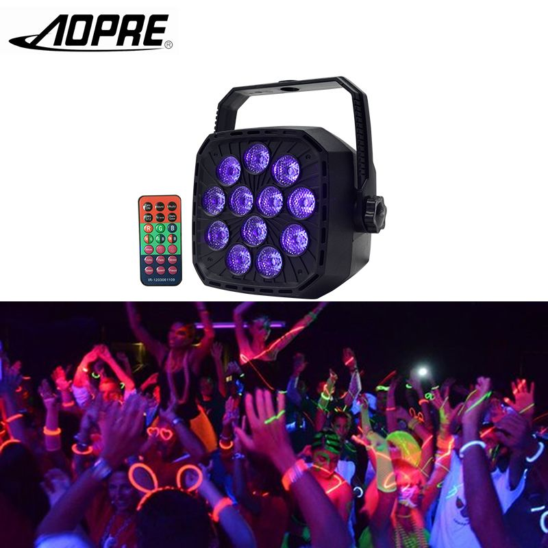 Aopre Uv Led Buhnenlicht Disco Licht Ball Mit Dmx 512 36 Watt Buhnenbeleuchtung Wirkung Lichter Buhne Lampe Fur Dj Led Stage Lights Ball Lights Stage Lighting