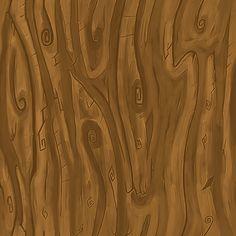 Cartoon Wood Bark Texture