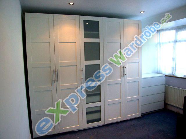 ikea pax Bergsbo wardrobe assembly | Master | Sleep | Pinterest ... | {Ikea pax spiegelschrank 68}