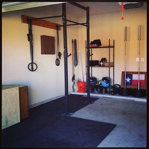 simple but effective at home gymfrom get rx'd crossfit