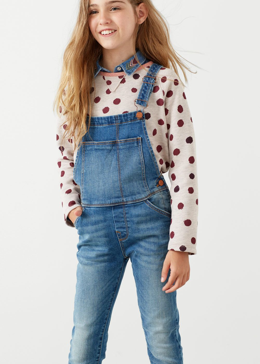 wholesale outlet sale uk Good Prices Medium denim dungarees - Girls | outfits | Baby girl jeans ...