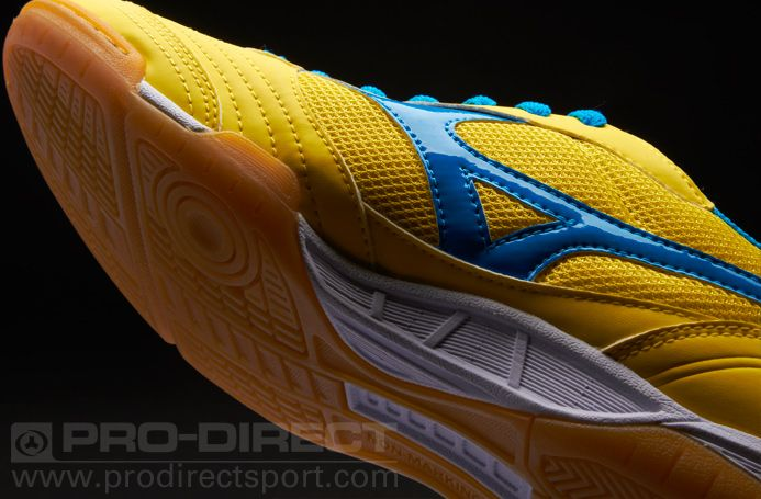 Mizuno Sala Club Trainers - Yellow Blue  pdsmostwanted  PDSgiveaway uk 7.5 d0a73ede562