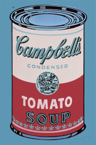 Colored Campbell S Soup Can 1965 Pink Red Posters Andy Warhol Allposters Com Campbell S Soup Cans Andy Warhol Pop Art Warhol Art
