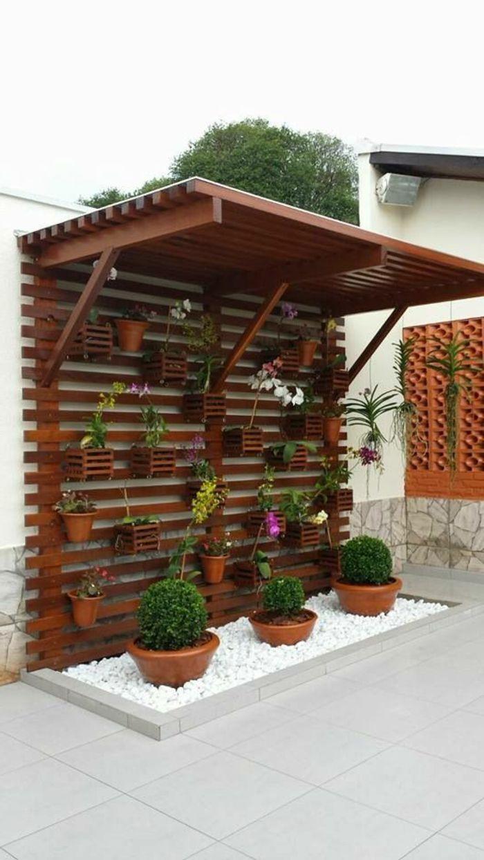 1001 Idees Pour Habiller Un Mur Exterieur Murs Vegetaux