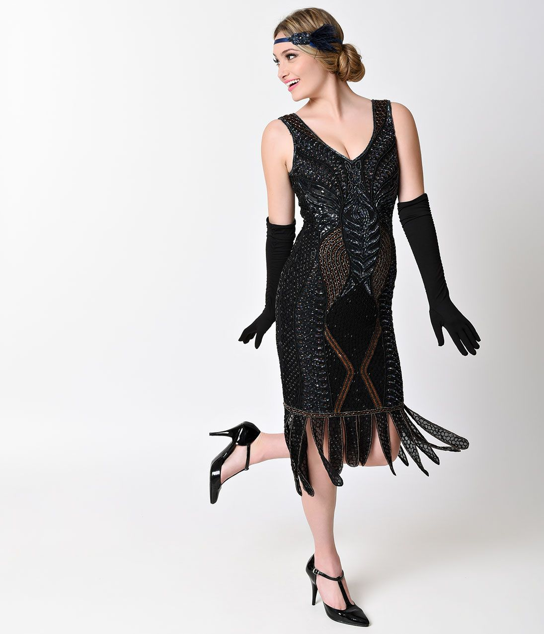 1920s Style Cocktail Party Dresses, Evening Gowns | 1920s, 1920s ...