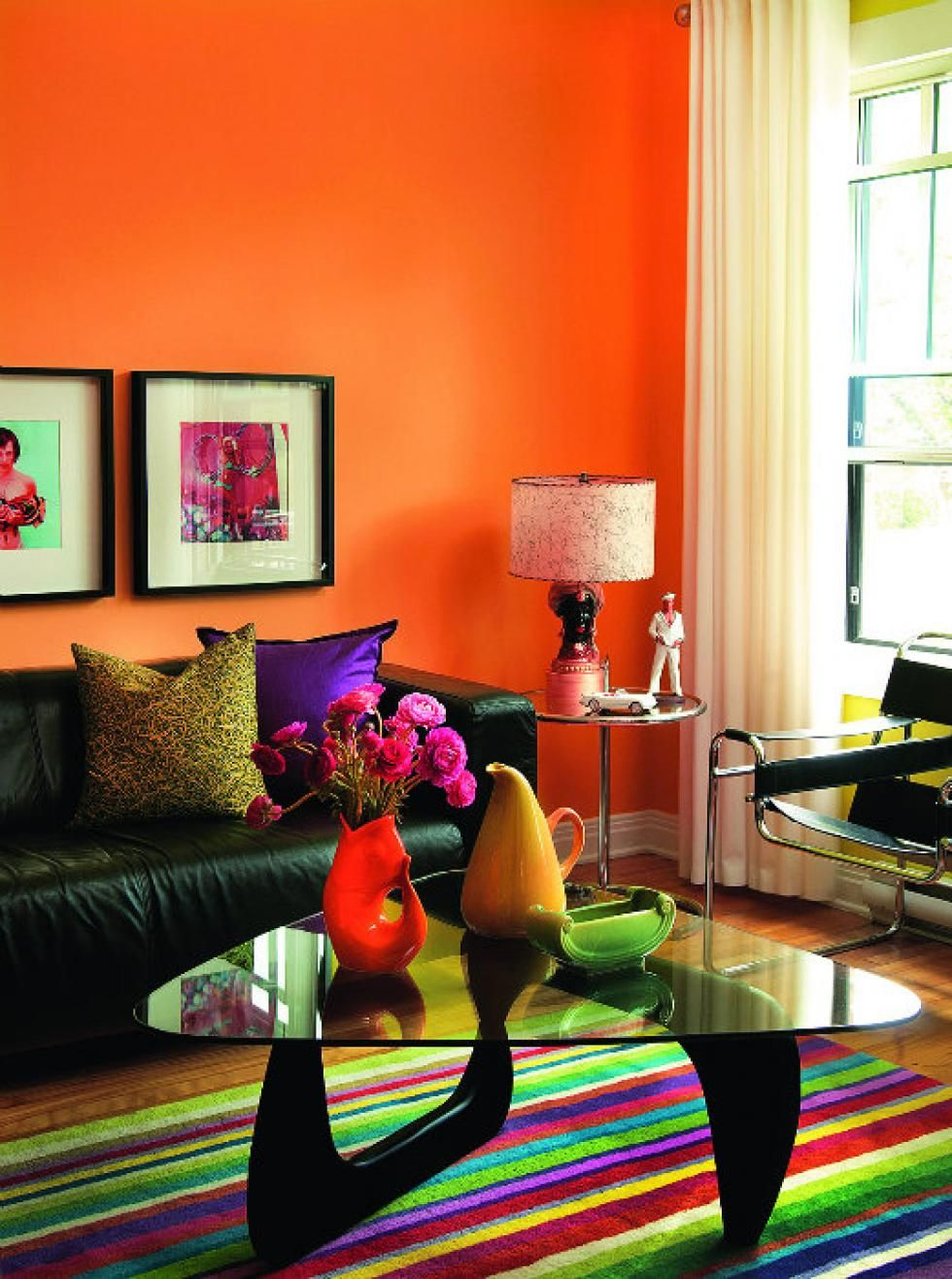 Tangerine Living Room Decor: Pin By Daniel Anani On My New Home Options