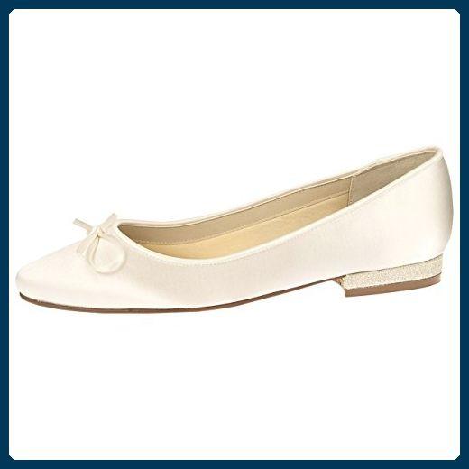 Damen Anne Michelle Glitzer Ballerina /'Schuhe/'