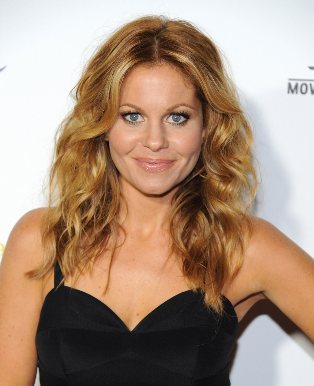 Candace Cameron Just Cut Her Hair Off