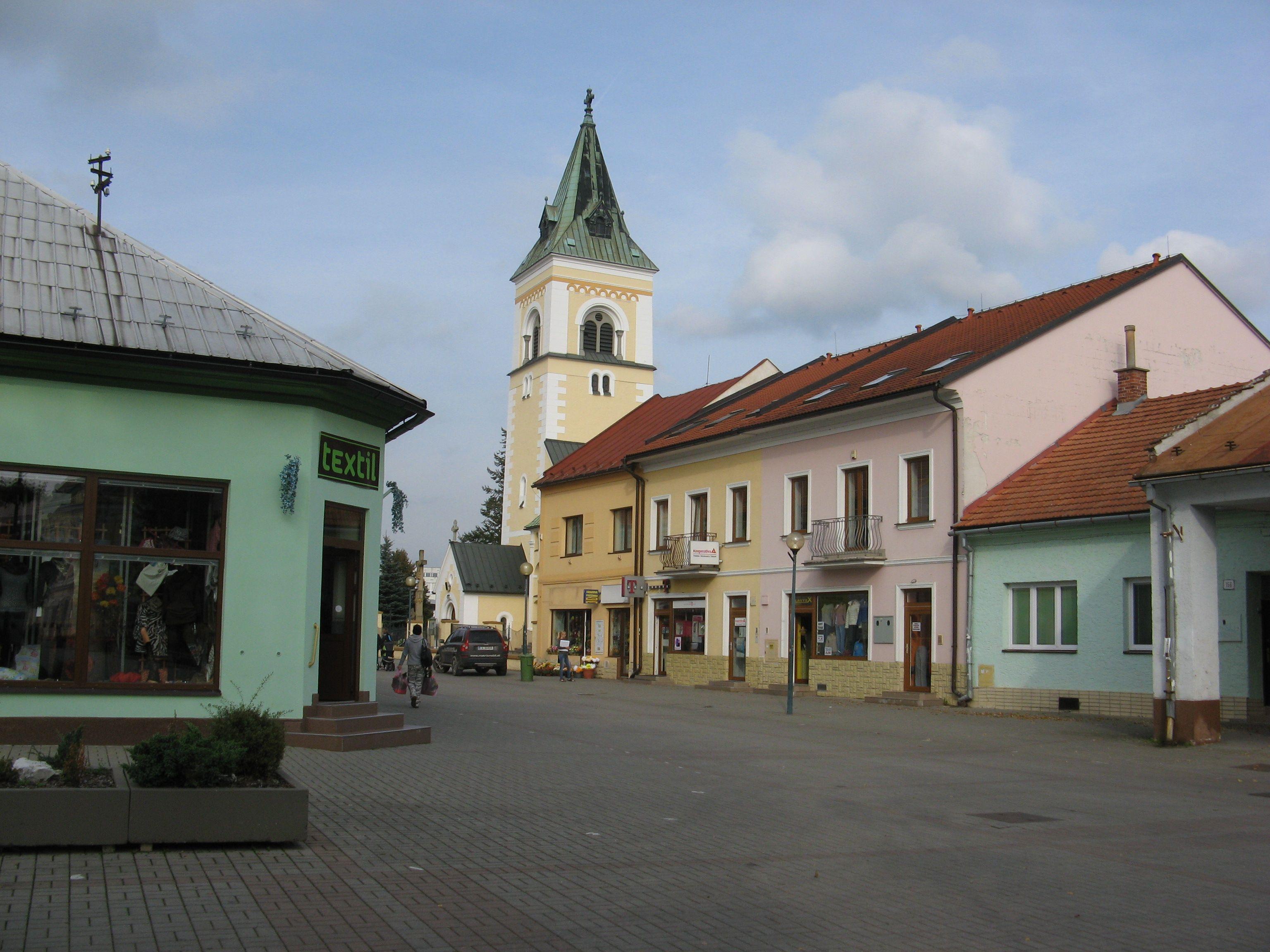 Namestie Slobody, Kysucke Nove Mesto, Slovakia, Europe (by maria sabarly)