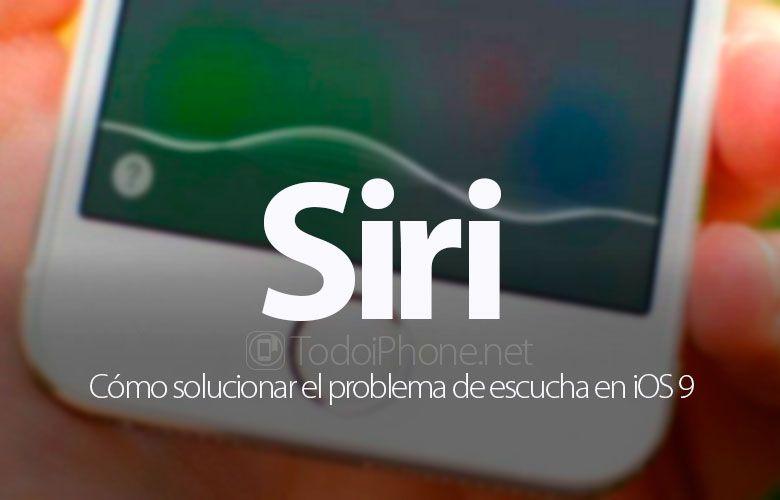Ver ¿Siri no se escucha o no funciona en iOS 9? Te decimos cómo solucionarlo