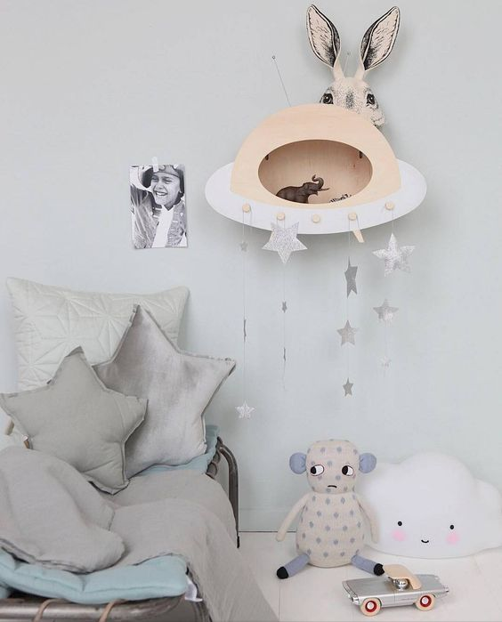 Up Warsaw, the Coolest Shelves on Instagram- Petit & Small  #shelf #kidsroom #kidsroomdecor