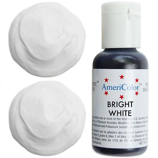Bright White Gel Paste Food Color | Things to Wear in 2019 | Food ...