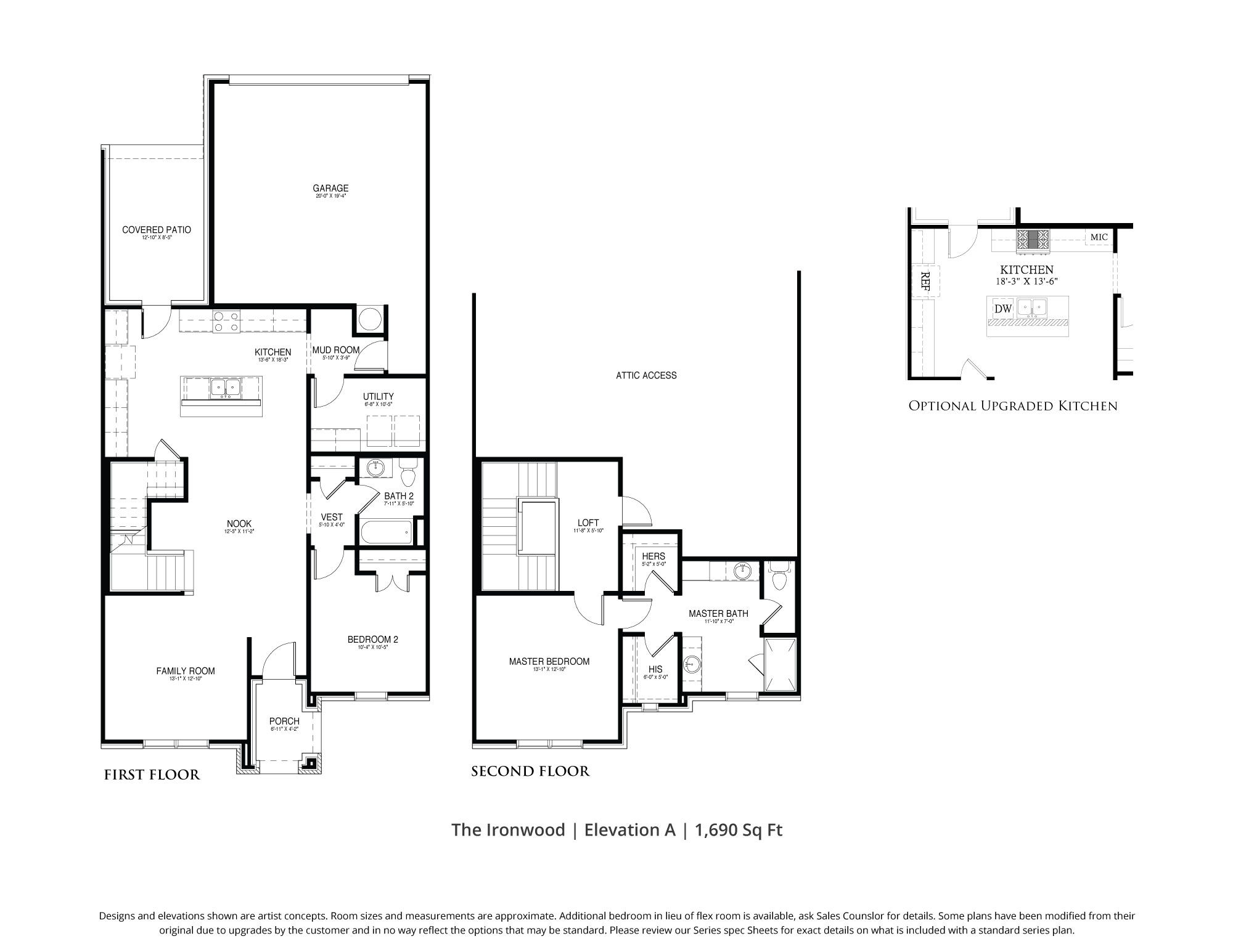 Ironwood Townhome Floor Plan In Dfw Our Country Homes Floor Plans How To Plan Townhouse